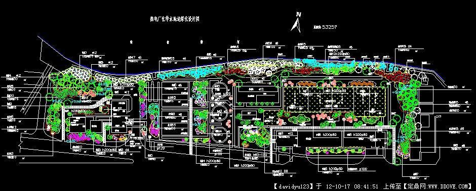热电厂化学水池车间绿化种植设计