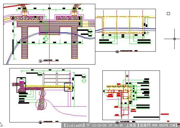 亲水平台施工图