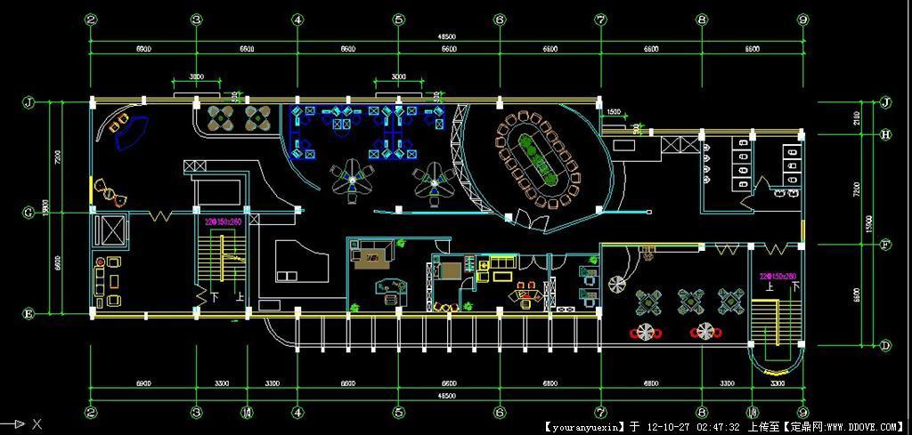 开放式会议室设计室方案图