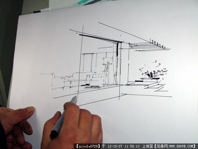 室内设计马克笔上色步骤