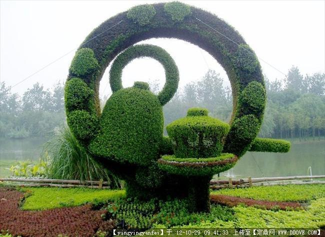 上海世纪公园景观小品-大图30张