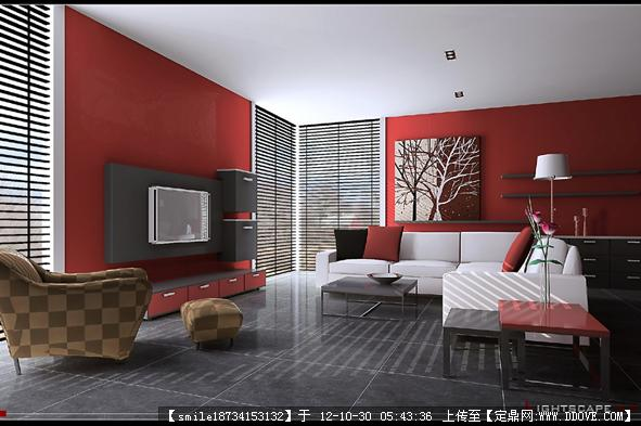 3d室内卧室效果图的下载地址,三维模型,室内模型,园林