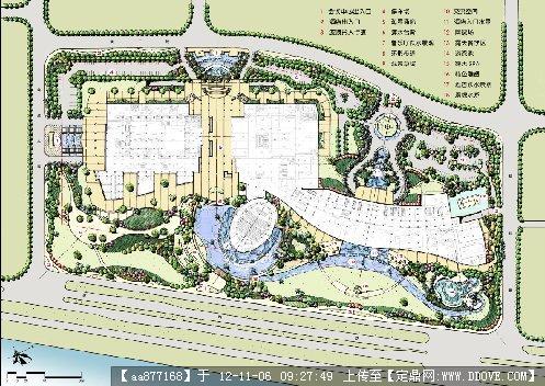 某国际会议中心景观概念设计整套文本