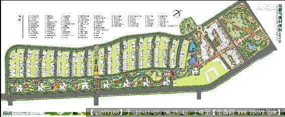 某居住区景观设计方案整套文本