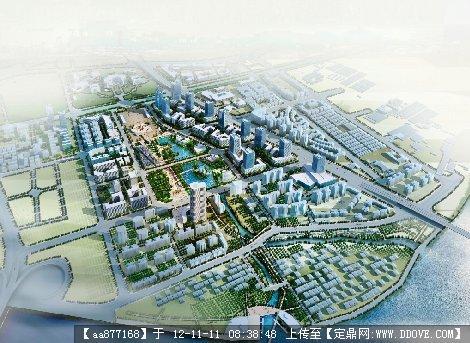 广州市某广场周边地区城市设计整套文本方案