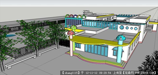 幼儿园设计-门口透视.jpg