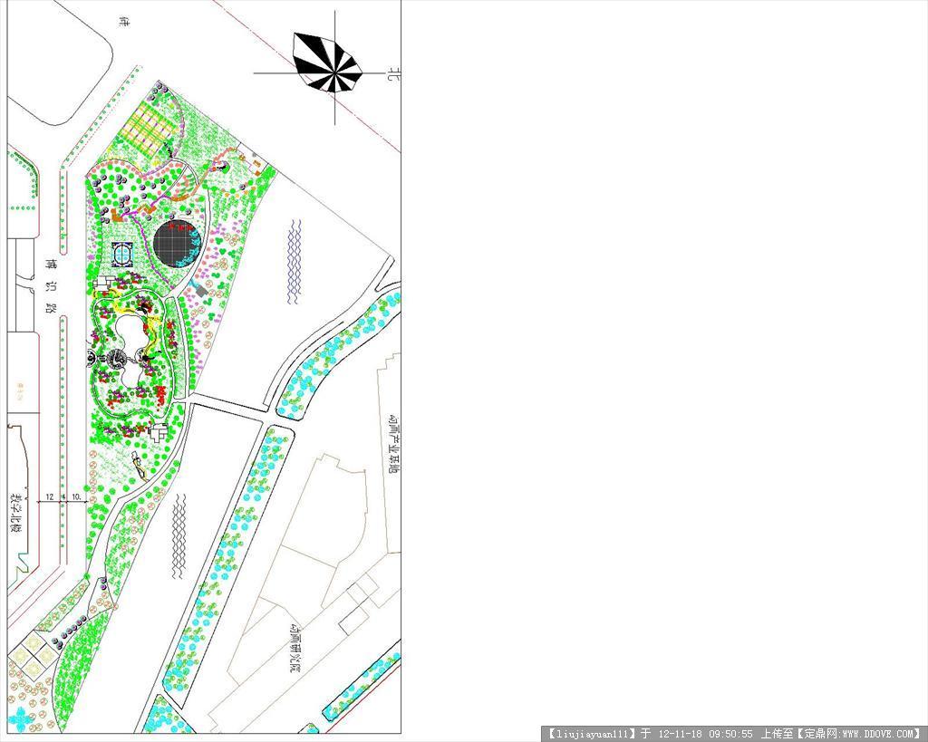 小游园设计方案图纸