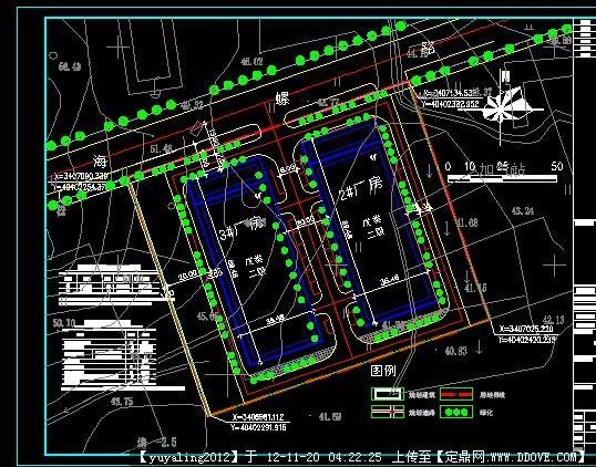 厂区规划图纸