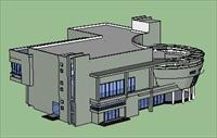 sketch  商业建筑