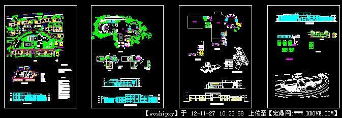 所设计CAD澡堂图纸设计农村大众图纸图片