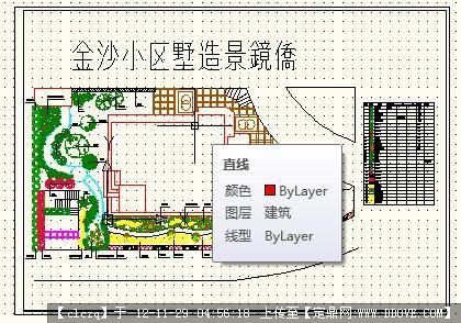 某别墅植物造景设计平面图