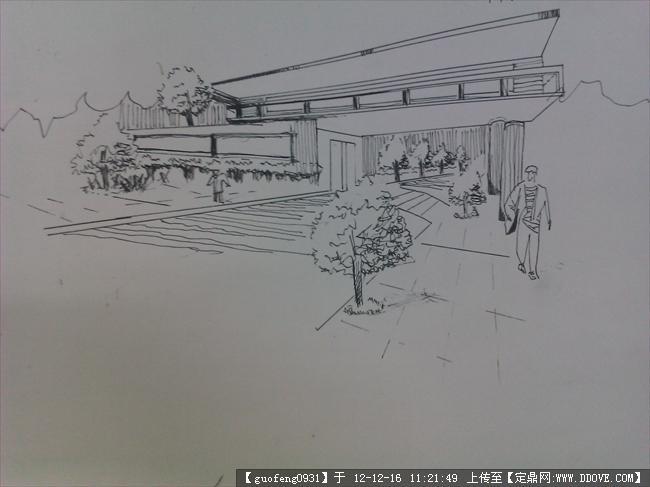 简笔画 手绘 素描 线稿 650_487