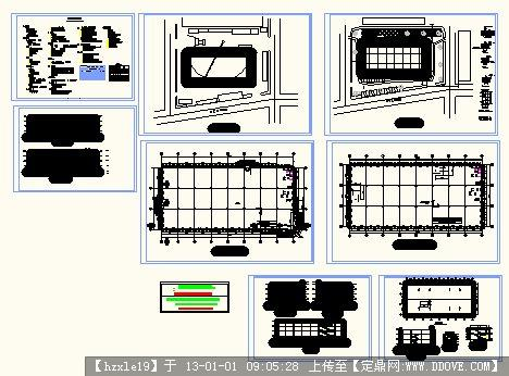 大型超市建筑设计图
