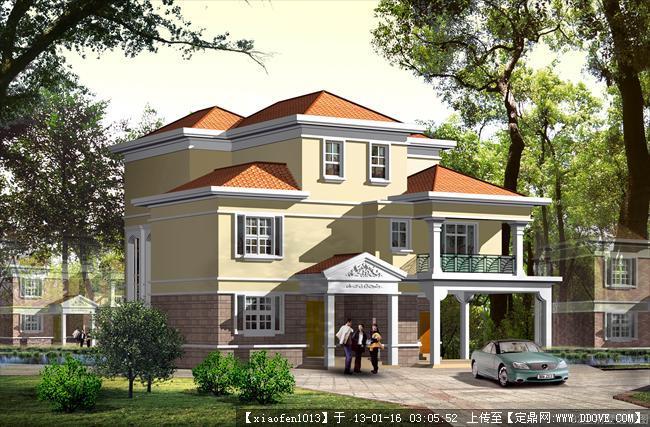 建筑施工图纸,别墅建筑