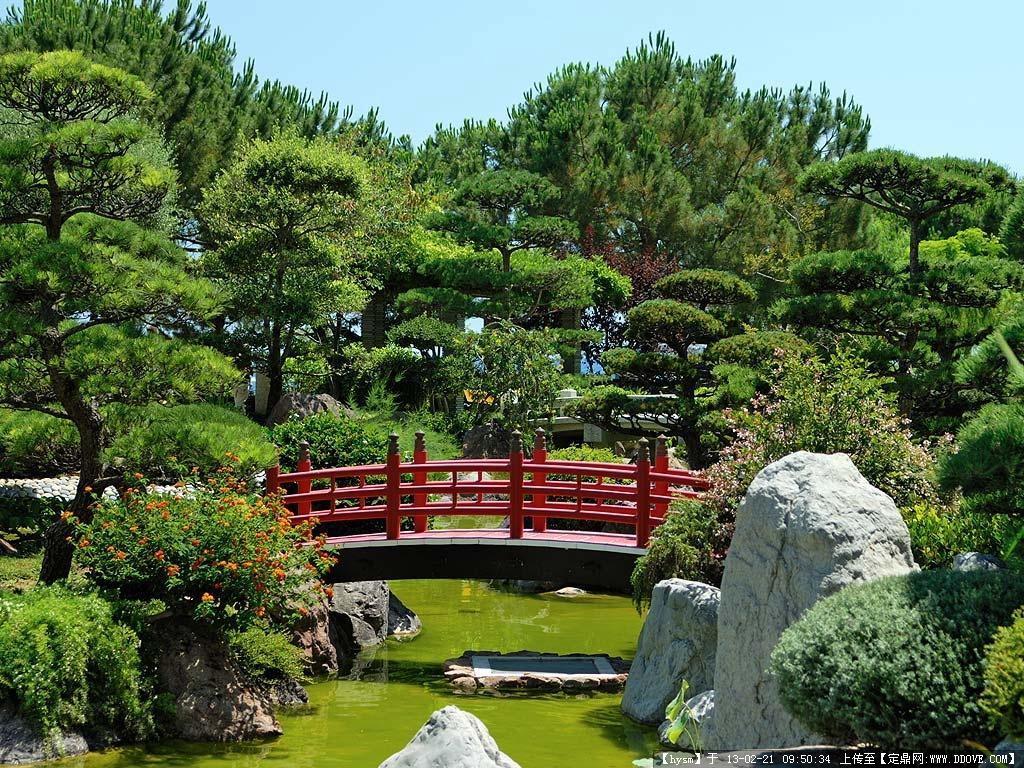 花园景观设计实景图