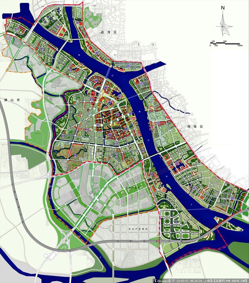 广州市某地区城市设计竞赛图片