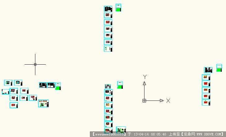 工程办公楼CAD尺寸图纸煤矿标注图配合图纸图片