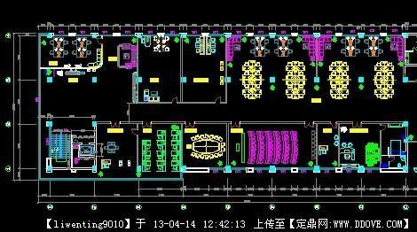 办公空间设计平面图图片