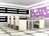 原创办公空间设计效果图