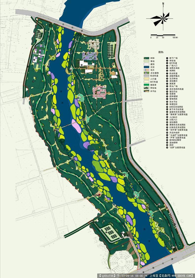 秦皇岛河两岸带状公园景观规划设计