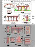 景观廊施工图