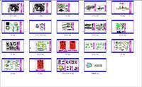 重庆广播电视台景观设计全套施工图