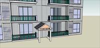 小区楼盘-纯建筑
