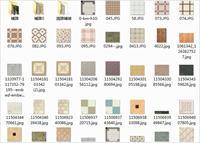 地面瓷砖PS素材